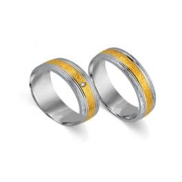 Cera Gold Trauringe 3004