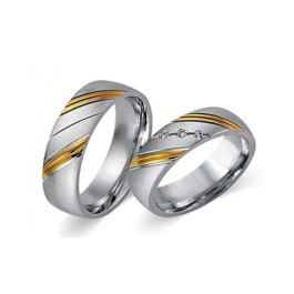 Fides Gold Trauringe 8001