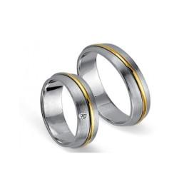 Fides Gold Trauringe 8004