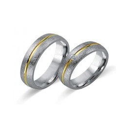 Fides Gold Trauringe 8005