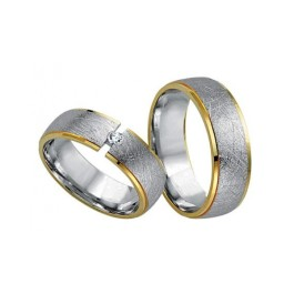 Fides Gold Trauringe 8006