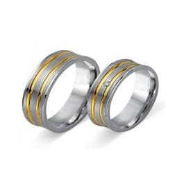 Fides Gold Trauringe 8007