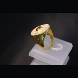 Ring mit Osmanischen Monogram 255