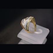 Juwelier Gerresheim Ring mit Zirkonia Steinchen 262-1